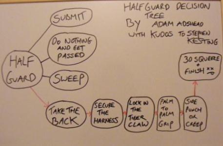 Half Guard d-tree